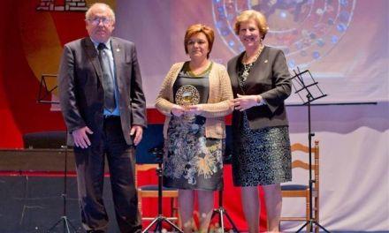 La Gerente de Postres Reina, premiada en Caravaca por el Día de la Mujer