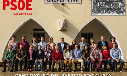 José Vélez presenta ante más de 400 personas su candidatura a la Alcaldía de Calasparra