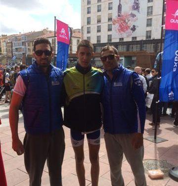 Tres duatletas caravaqueños en el Campeonato de España celebrado en Soria