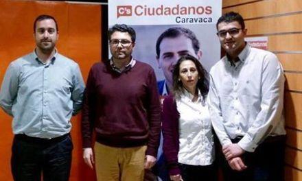 José Carlos Gómez, candidato de Ciudadanos Caravaca a la Alcaldía