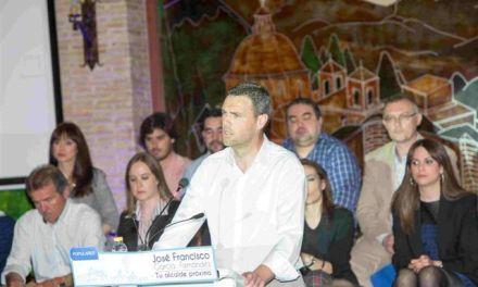 «Queremos que Caravaca y la comarca tengan un impulso definitivo, y que sus habitantes tengan las mejoras oportunidades», José Francisco García en la presentación de su candidatura