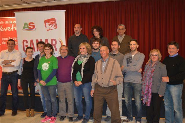 IU-Verdes Caravaca presenta su lista completa a las elecciones municipales
