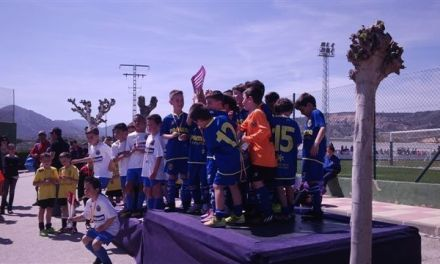 El Archena F.C. se alza como campeón del VIII Torneo Nacional de Fútbol 8 Ciudad de Cehegín