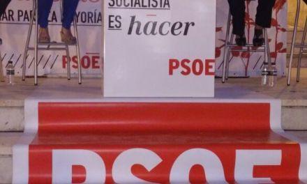 El PSOE de Cehegín cierra el segundo fin de semana de campaña con gran afluencia en su acto en la Plaza del Cine Alfaro