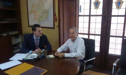 Rocamora firma el convenio por el que se mejora el servicio de agua potable en Valentín