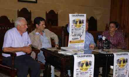 Presentación del cartel del festejo taurino del Día de los Santos de Calasparra