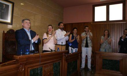 El socialista José Vélez toma posesión de su cargo como alcalde de Calasparra