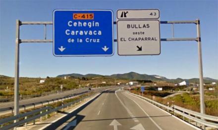Los socialistas de Caravaca denuncian que la amortización de la autovía a Murcia resta inversiones a la comarca del Noroeste