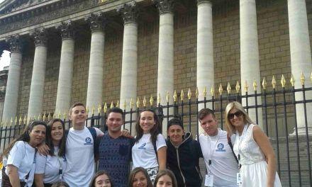 Caravaca participa en un encuentro juvenil celebrado en Francia junto a siete ciudades europeas
