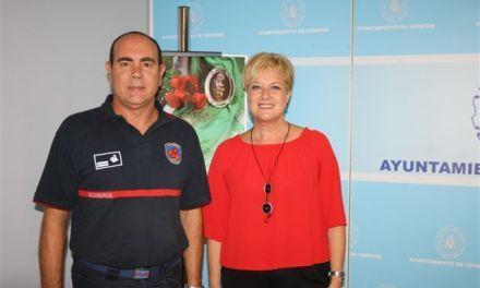 El Consorcio de Extinción de Incendios y Salvamento de la Región velará por la seguridad en las Fiestas por primera vez en Cehegín