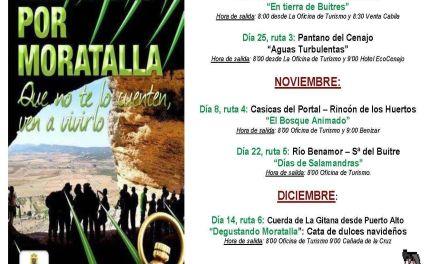 Regresa el programa de excursiones Descubriendo Moratalla