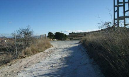 El camino rural del 'Poleo' en Bullas será asfaltado informan desde la Dirección General de Desarrollo Rural y Forestal