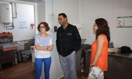 El equipo de Gobierno muestra su satisfacción por el desarrollo que ha tenido el servicio de comedor de verano en Cehegín