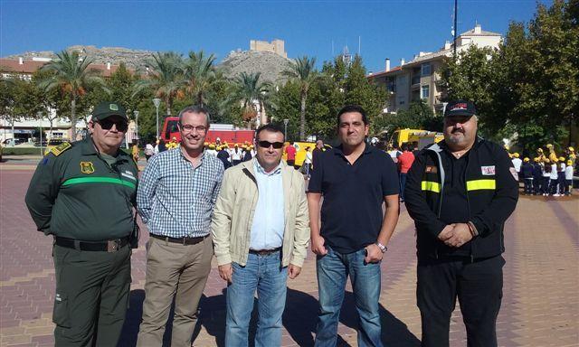 Protección Civil de Bullas participa en la Jornada para dar a conocer el operativo de lucha contra incendios que aporta al Plan Infomur en Mula