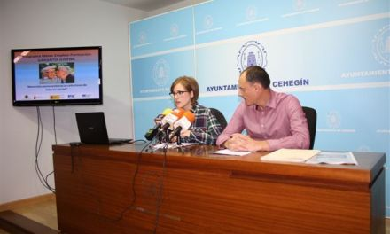 El Equipo de Gobierno presenta el Programa Mixto de Empleo y Formación, que dará trabajo a 15 jóvenes de Cehegín