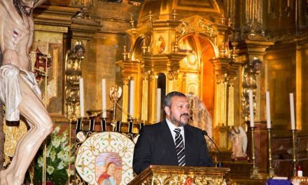 Juan Fernández Robles pregonará la Semana Santa de Caravaca