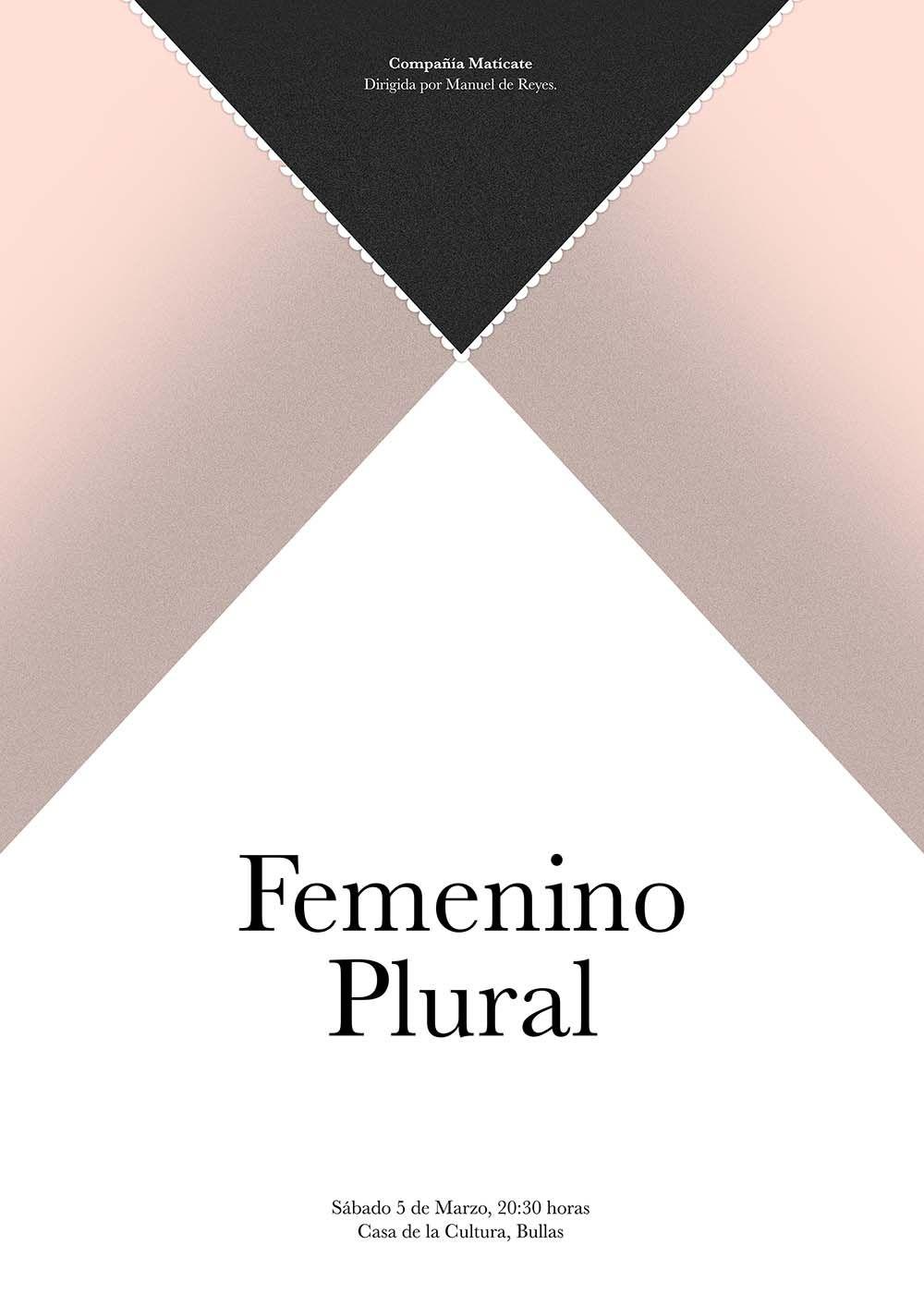 Cartel Femenino en Plural