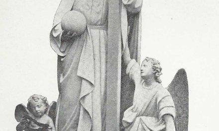 La Imagen del Salvador, en el Templo de su Advocación