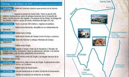 La Concejalía de Turismo inicia el domingo las visitas por las pedanías, el campo y la huerta de Caravaca