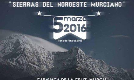 La XV Travesía de Resistencia en Montaña 'Sierras del Noroeste Murciano' se celebra el 5 de marzo