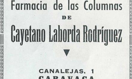 Boticas y boticarios en el ecuador del siglo XX en Caravaca