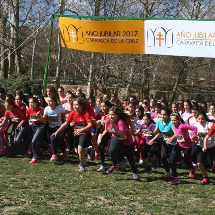 Fase municipal del cross escolar 2016