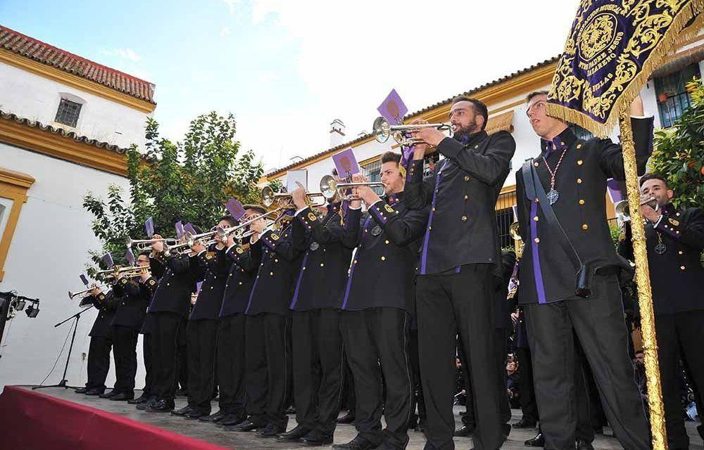 La Banda Los Moraos de Bullas participa en un prestigioso certamen de formaciones procesionarias
