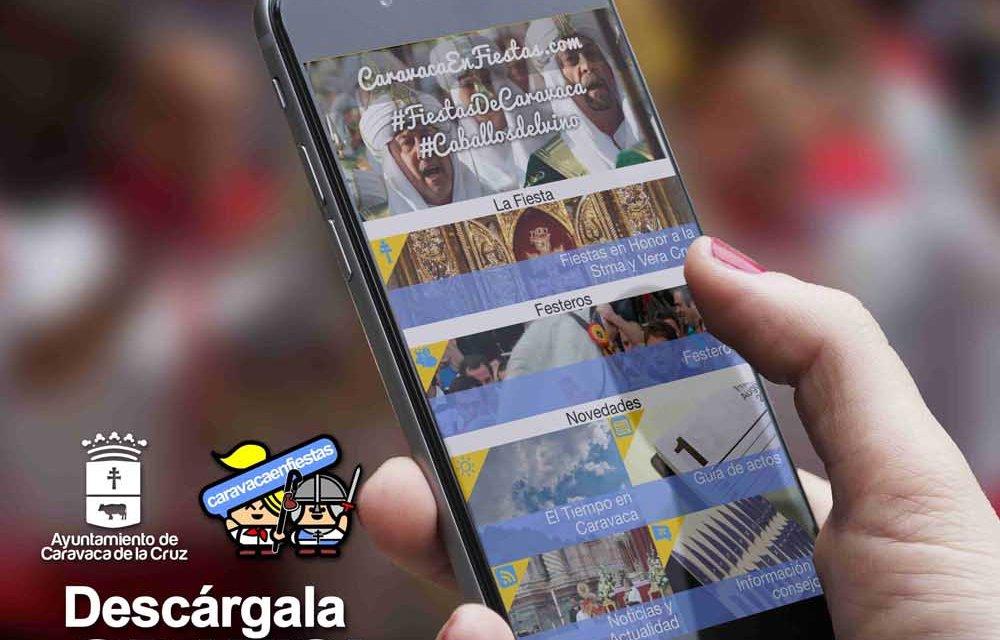 Disponible para IOS y Android la aplicación móvil de las fiestas patronales de Caravaca