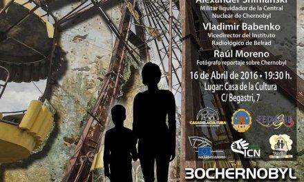 Cehegín acogerá  una conferencia sobre los accidentes nucleares de Chernóbil y Fukushima