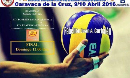 Caravaca acoge este fin de semana la fase final regional de Voleibol Juvenil Masculino