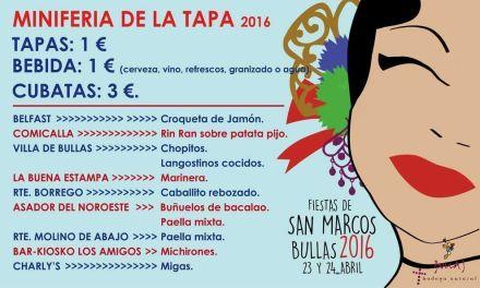 Bullas celebra San Marcos este fin de semana