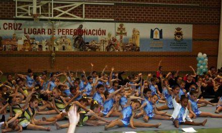Más de 200 alumnos de Gimnasia Ritmica participan en el Festival de Primavera de la Concejalía de Deportes