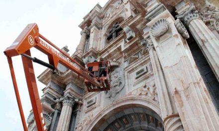 El Ayuntamiento de Caravaca pide al Ministerio de Cultura que intervenga en la fachada de la Basílica de la Vera Cruz