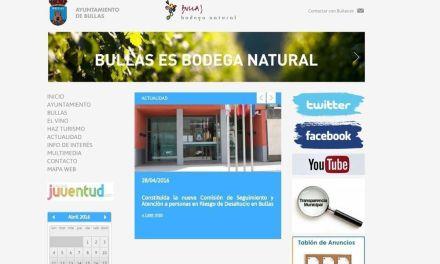 Publicadas las bases para contratar el servicio para el desarrollo de una nueva página web para el Ayuntamiento de Bullas