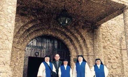 Las Madres Justinianas visitan el Santuario de Ntra. Sra. de la Esperanza
