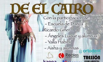 El Teatro Thuillier de Caravaca acogerá el 29 de mayo el espectáculo «Las Noches del Cairo» a beneficio de la Asociación Española contra el Cáncer