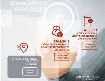 El Ayuntamiento de Cehegín oferta dos talleres gratuitos para aprender a desarrollar los negocios por Internet