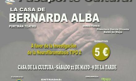 La obra de teatro 'La Casa de Bernarda Alba' recaudará dinero para la investigación de la Neurofibromatosis Tipo 2