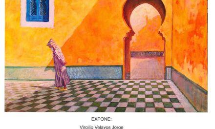 La exposición de Virgilio Velayos Jorge en la Casa de la Cultura de Bullas se inauguró el viernes 27