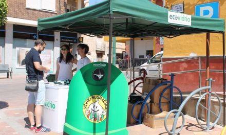 Ecovidrio y Proyecto Abraham invitan en Bullas a reciclar