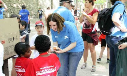 Más de 150 menores participan en el ´Día del Voluntariado', organizado por la Caixa y el Ayuntamiento de Caravaca