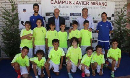 """El """"Campus Javier Miñano"""" de Cehegín, unos días intensos de formación en el fútbol y en los valores universales del deporte"""
