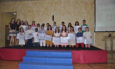 Graduación del alumnado del CEIP La Santa Cruz 2016