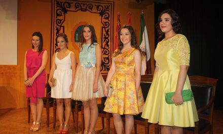 Presentadas la Damas de las Fiestas de Cehegín 2016
