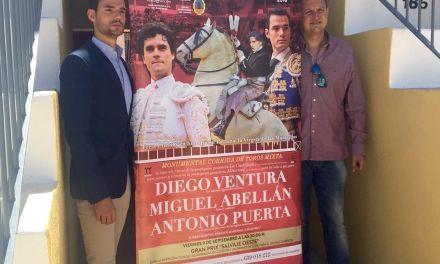 Ventura, Abellán y Puerta el 10 de septiembre, en Cehegín