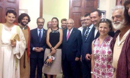 El Alcalde de Caravaca de la Cruz asistió al 'Misteri d'Elx', invitado por el Patronato y el Ayuntamiento de la localidad ilicitana