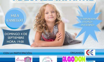 El 'I Desfile de Ropa Infantil' de Cehegín se celebra el 4 de septiembre