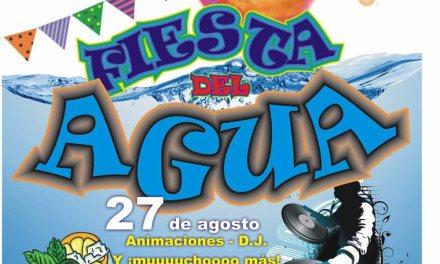 Fiesta del Agua en Cehegín dentro de las actividades de Ocio Alternativo