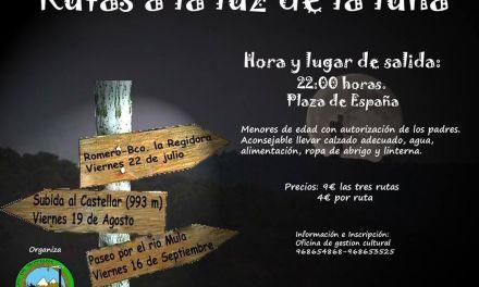 "La subida al Monte Castellar, próxima ruta nocturna de Bulas ""A la luz de la luna llena"""