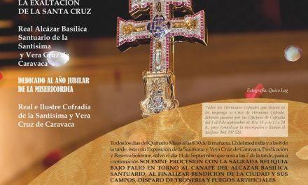 El Año Jubilar de la Misericordia tiene presencia en el Solemne Quinario de Exaltación de la Santísima y Vera Cruz de Caravaca 2016